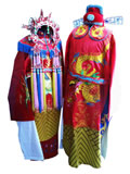 Tang Dynasty Royal Wedding Dress with Crown for Bride